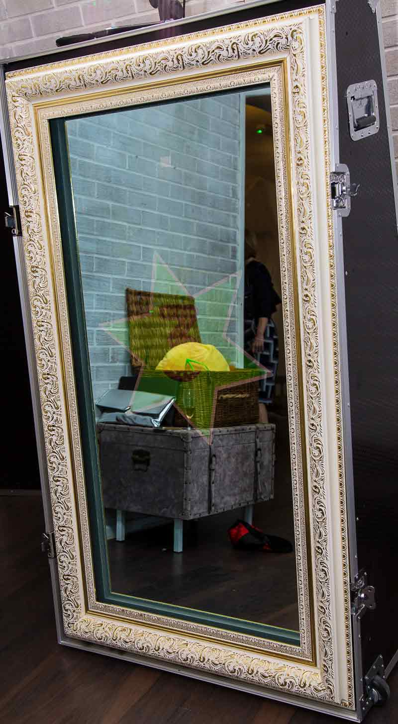 Magic Mirror Photo Booth Hire London Paparazzi Vip
