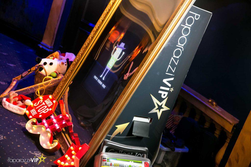 Magic Mirror Photo Booth Hire London Paparazzi Vip